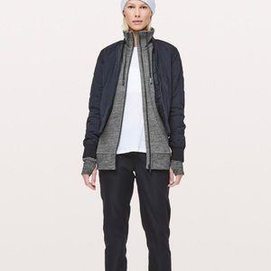 Lululemon Size 6 Huddle & Hustle Jacket Black